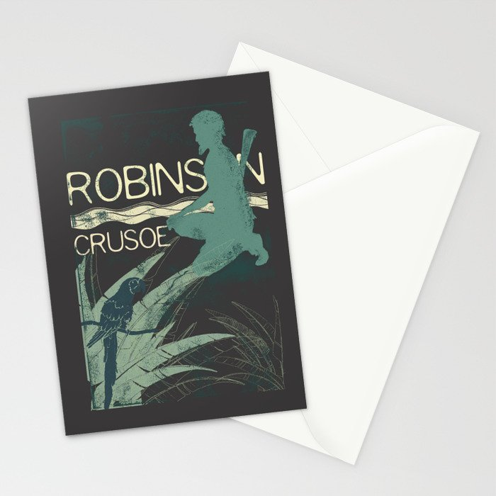 Books Collection: Robinson Crusoe Stationery Cards
