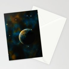Deus Nebula Stationery Cards