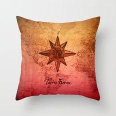 Terra Firma Throw Pillow
