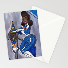 Our Sensational Blue Angel Stationery Cards