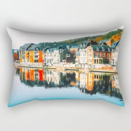 Dinant cityscape Rectangular Pillow