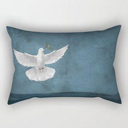 Genesis 8:11 Rectangular Pillow
