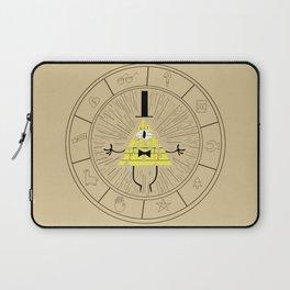 Bill Cipher summoning Laptop Sleeve