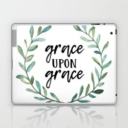 Grace Upon Grace Laptop & iPad Skin