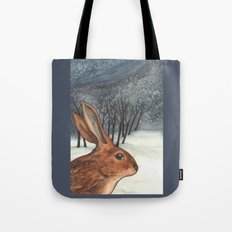 Ten of Rabbits Tote Bag
