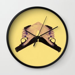 Gunning for you Wall Clock