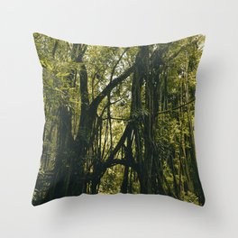 Jungle Book Meets Narnia Throw Pillow