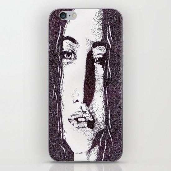 ??? Girl iPhone & iPod Skin