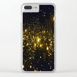 Floating Lanterns Clear iPhone Case