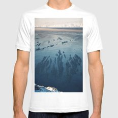 Ilulissat Greenland: The land of dog sleds and Midnight Sun White MEDIUM Mens Fitted Tee