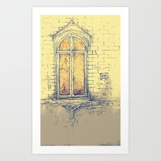 Window in Christiania Art Print