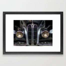Old BMW Framed Art Print