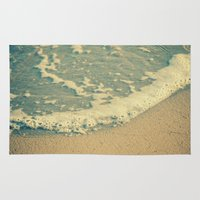 swimming Area & Throw Rugs featuring Swimming by MundanalRuido