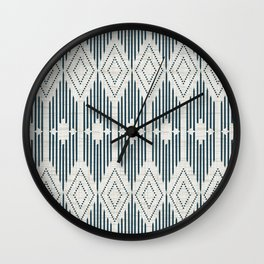 West End - Linen Wall Clock