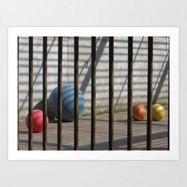 Still life in zoo Art Print