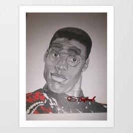 Dwayne Wayne Art Print