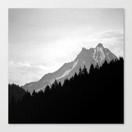 Beyond The Dry Ridge Canvas Print
