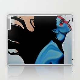 Lady Hellshock: barbaric paladin Laptop & iPad Skin