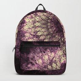 Purple Mandala Backpack