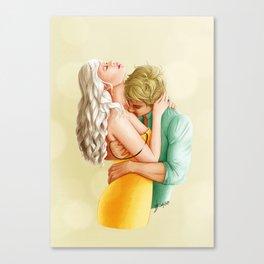 You Leave Me Breathless - Nikolina Canvas Print