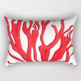 Red Coral no. 1 Rectangular Pillow