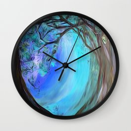 Into the Ice Wall Clock