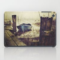 rowing iPad Cases featuring Rugged fisherman by HappyMelvin