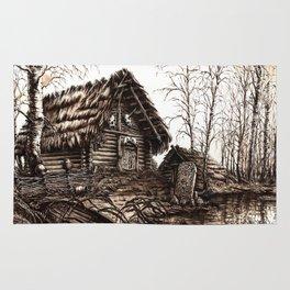 Slavic Hut Rug