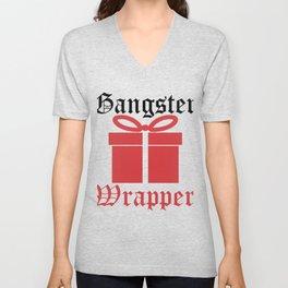 Gangster Wrapper - Christmas Present Unisex V-Neck