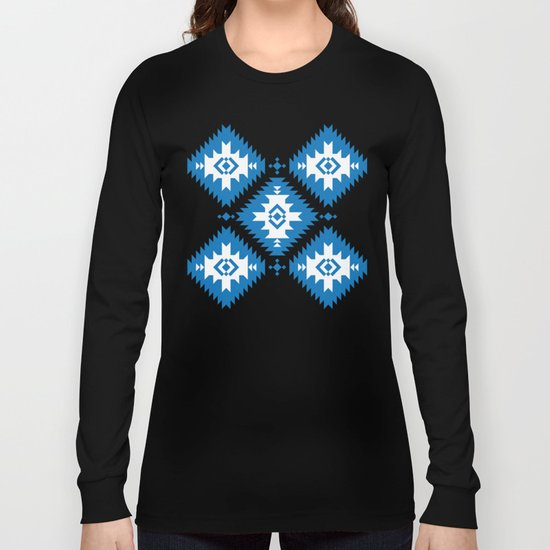 NavNa Blue Long Sleeve T-shirt