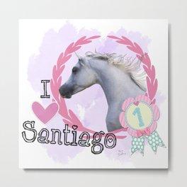 We love Santiago Metal Print