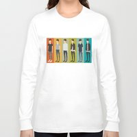 tegan and sara Long Sleeve T-shirts featuring Tegan and Sara: Sara collection by Cas.