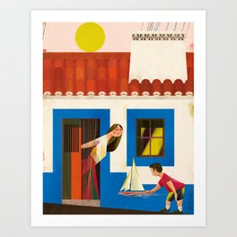Alentejo Art Print