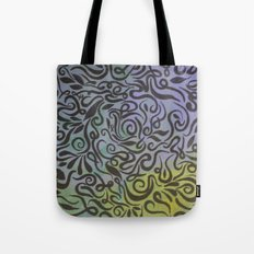 Blue vines  Tote Bag
