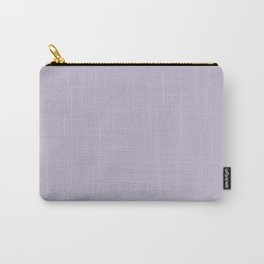 PPG Glidden Trending Colors of 2019 Wild Lilac Pastel Purple PPG1175-4 Solid Color Carry-All Pouch