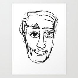 FACES / 003 Art Print