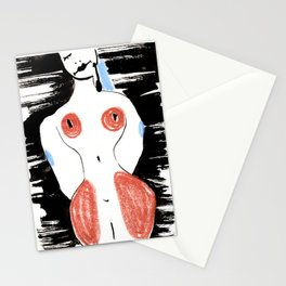 Woman #7 Stationery Cards