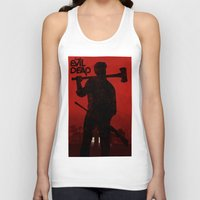 evil dead Tank Tops featuring The Evil Dead by Bill Pyle