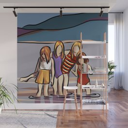 Cousins and the Lake Wall Mural