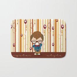 hipster style 2 Bath Mat
