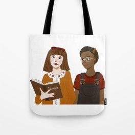Matilda & Lavender Tote Bag