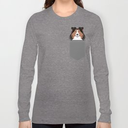 Jordan - Shetland Sheep Dog gifts for sheltie owners and dog people gift ideas perfect dog gifts Long Sleeve T-shirt