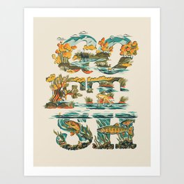 Go Fish Art Print