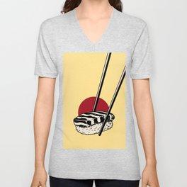 Sushi-San Unisex V-Neck