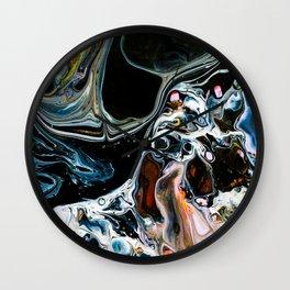 Abstract Melt X Wall Clock