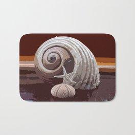 seashells 2 Bath Mat