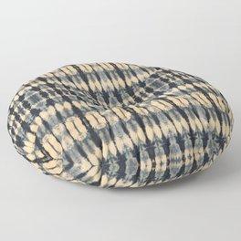 Deep Indigo Shibori Floor Pillow