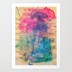 Magical Mayhem Art Print