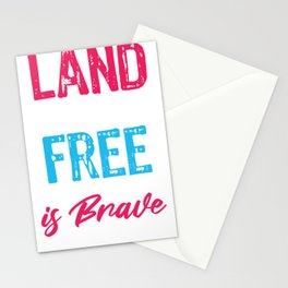 My Dad is Brave Army Stationery Cards