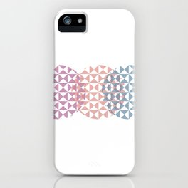 overlapping circles iPhone Case